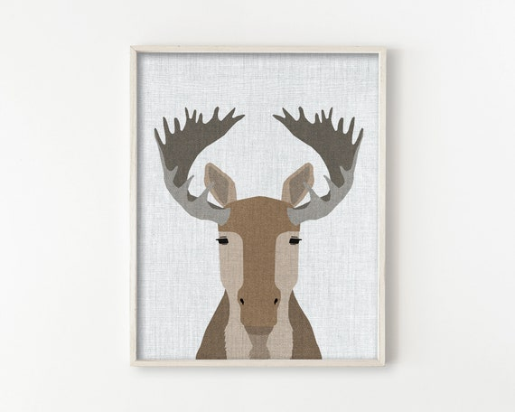 Moose - Modern Animals Series