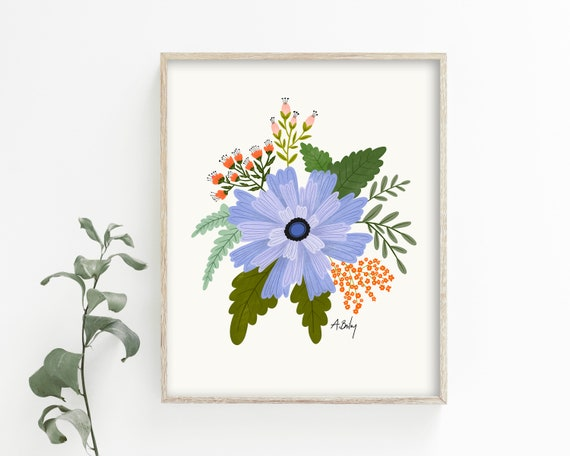 Colorful Floral Wall Art