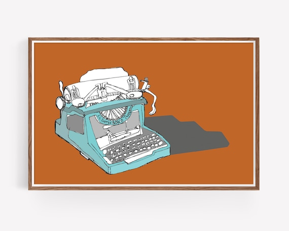 """Sketchbook Typewriter"""