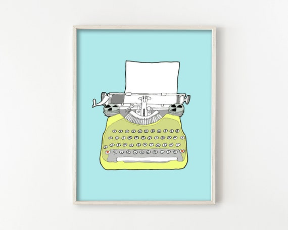 Vintage Typewriter No. 6