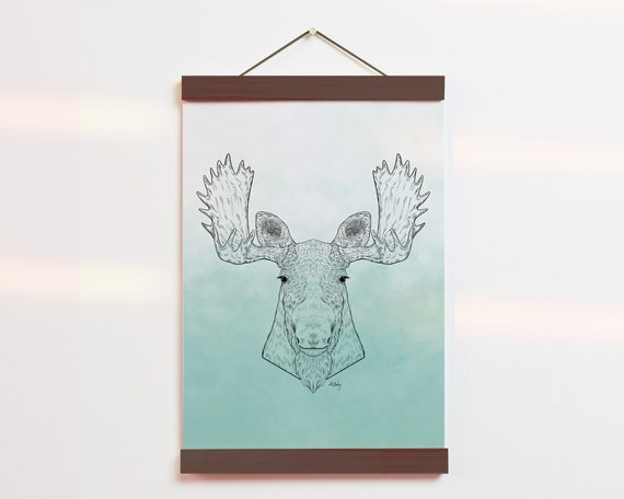 """Moose Portrait"" - STUDIO SALE!"
