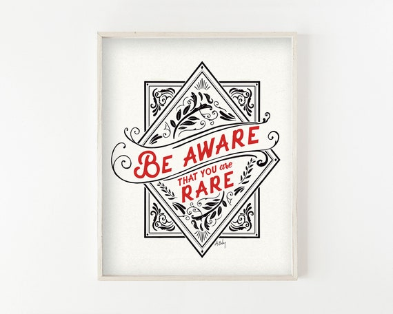Be Aware - fine art print