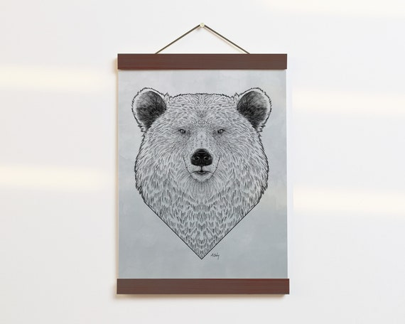 """Grizzly Portrait"" - STUDIO SALE!"