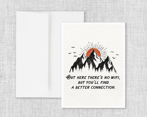 A Better Connection - Greeting Card