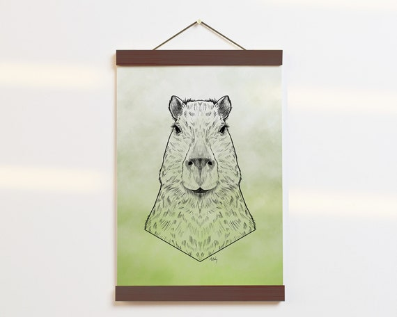 """Capybara Portrait"" - STUDIO SALE!"