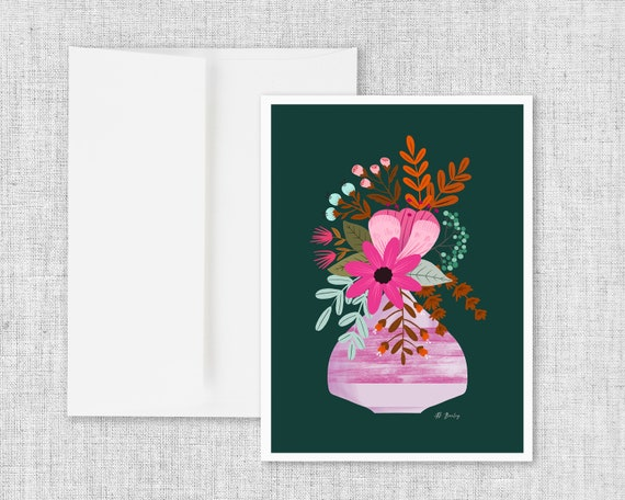 Breathe In - Greeting Card