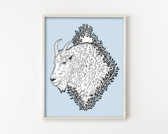 Mountain Goat Wall Art