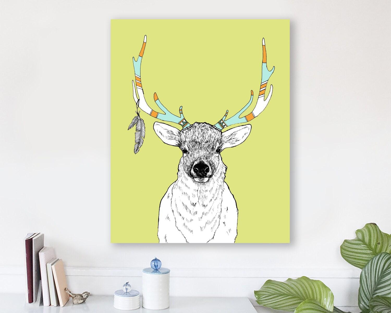 large modern wall art, large canvas wall art, animal art prints ...