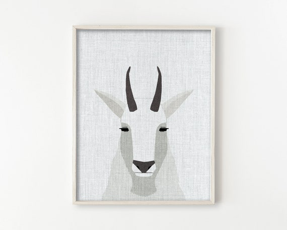 Mountain Goat - Modern Animals Series