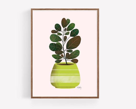 Lime Green Planter