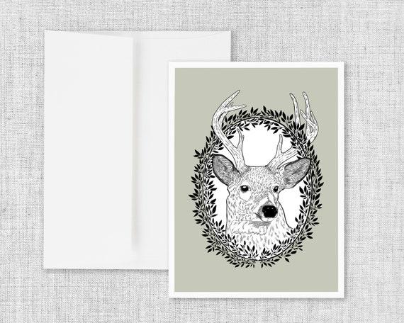 Prairie Wanderer - Greeting Card and Envelope