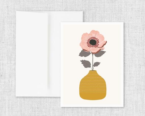 Flower Dreams - Greeting Card