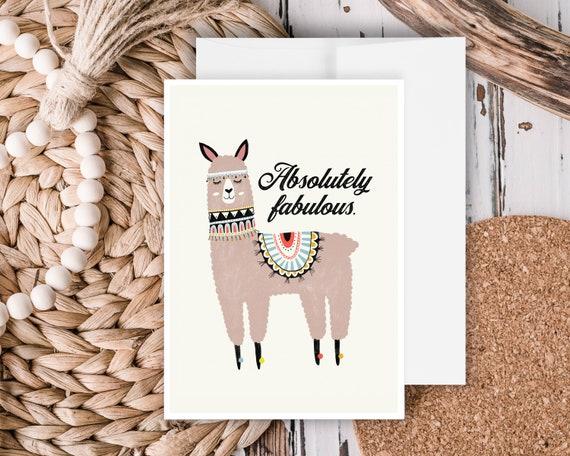 """Fabulous"" - Greeting Card"