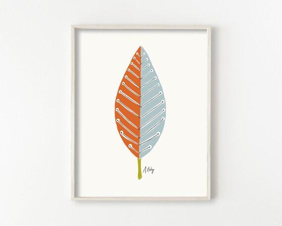 Mid Mod Leaf No. 2