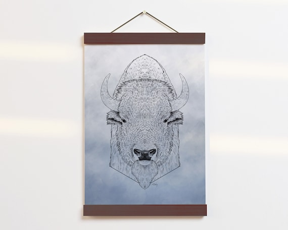 """Buffalo Portrait"" - STUDIO SALE!"