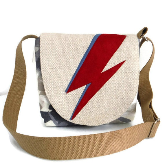 david bowie clutch bag