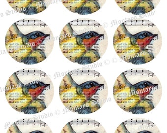 BARN SWALLOW  INSTANT Digital DownloadTAG  Collection of original art  for  gift Tags  Magnets  Cards  Collecting and decor