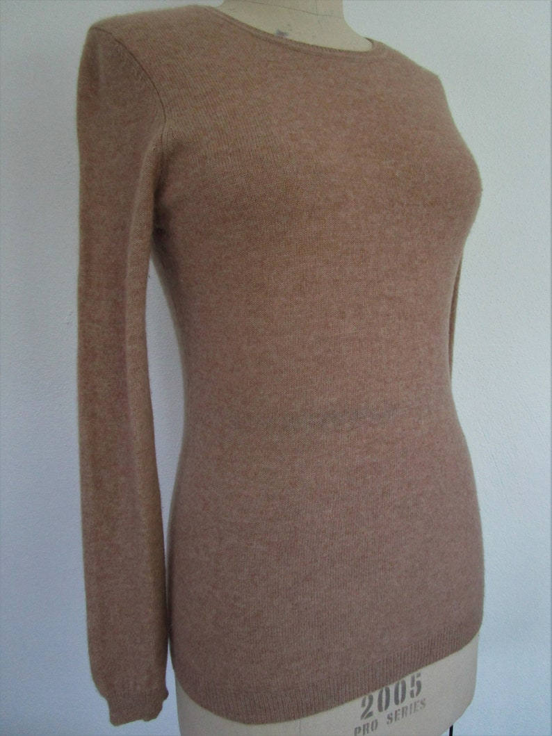 S Macys CASHMERE Pullover Knit Sweater Charter Club Crew image 0