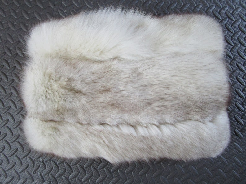 Upcycled Real Genuine Fox Fur Pillow Hollywood Glam Luxury image 0