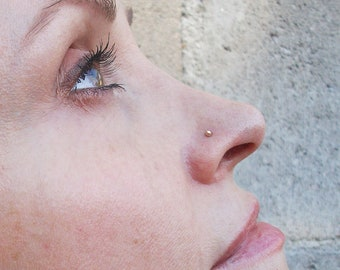 Nose Rings Studs Etsy In