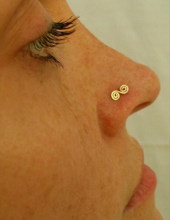 Spiral Nose Cuff