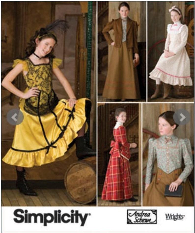 Western Costume  Pattern image 0