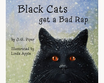 BLACK CATS Children's Book - Get a signed copy!!