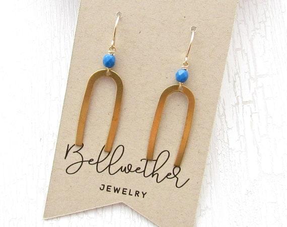 WHOLESALE LISTING // Matisse Earrings - Blue // EMB