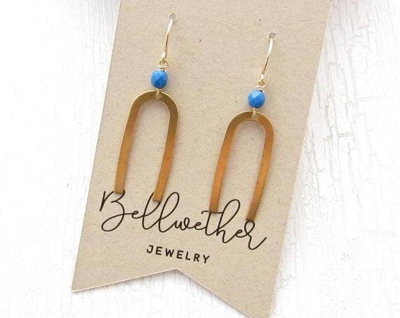 Matisse Earrings > Blue