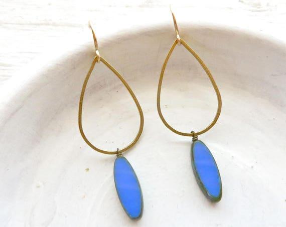 Balance Earrings > Blue