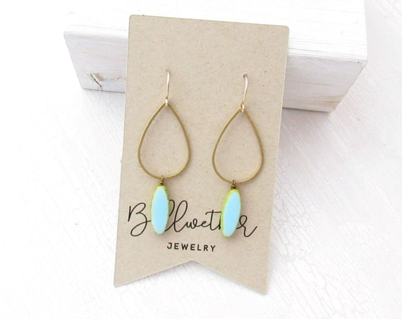 Balance Earrings > Blue