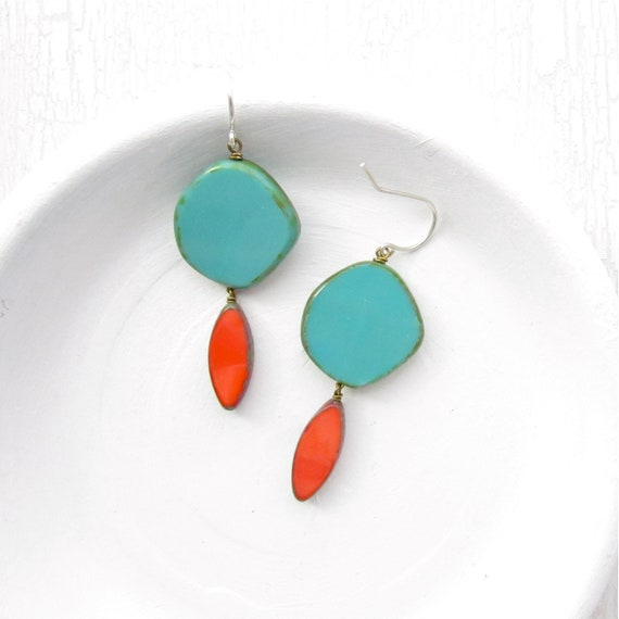 WHOLESALE LISTING // Hue Earrings - Turquoise // EHT