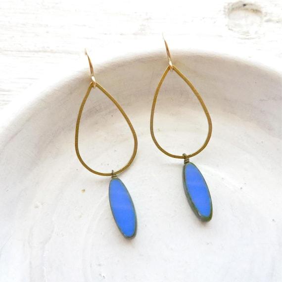 WHOLESALE LISTING // Balance Earrings - Blue // EBB