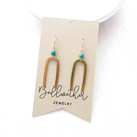 WHOLESALE LISTING // Matisse Earrings - Emerald // EME