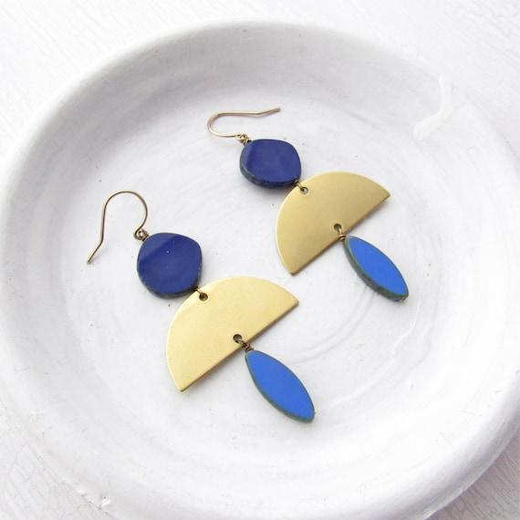 Half Moon Earrings > Jewel II