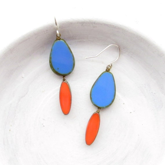 WHOLESALE LISTING // Pigment Earrings - Blue // EPB