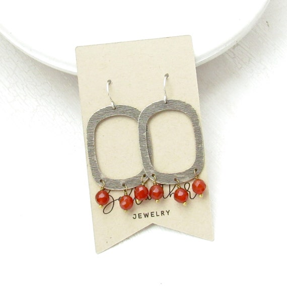Wholesale Listing // Out West Earrings - Carnelian // EOWC