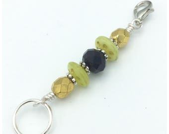 Stitch marker- progress keeper- gift for knitters- removable crochet marker- knitting stitch marker- 2 in 1 stitch marker- why choose marker