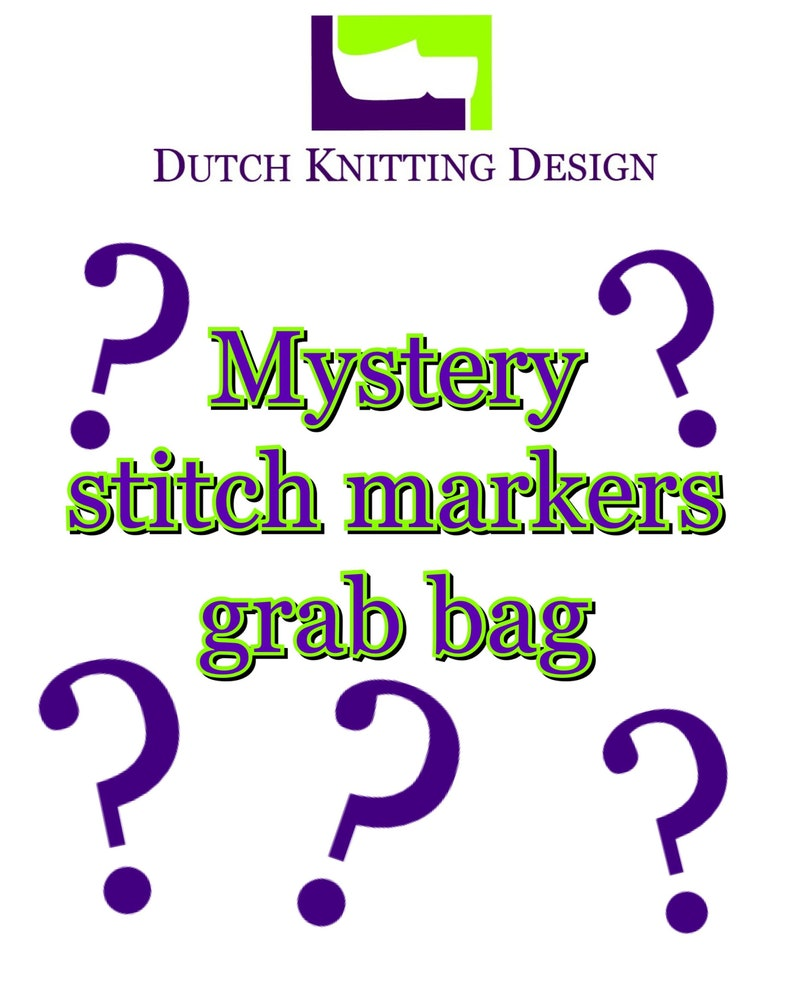 Mystery Stitch markers grab bag snag free progress keepers image 0