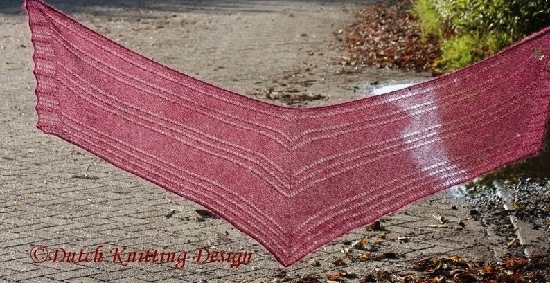 Lace knit scarf patterns modern knitting patterns for women image 0