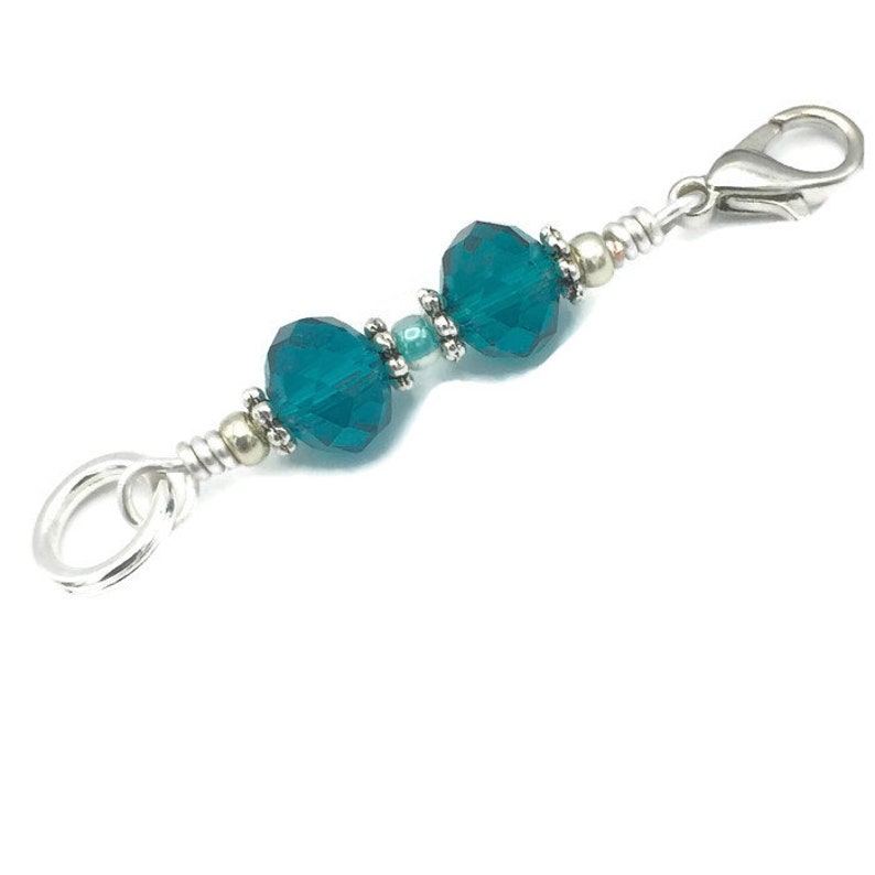 Stitch marker progress keeper gift for knitters removable image 0