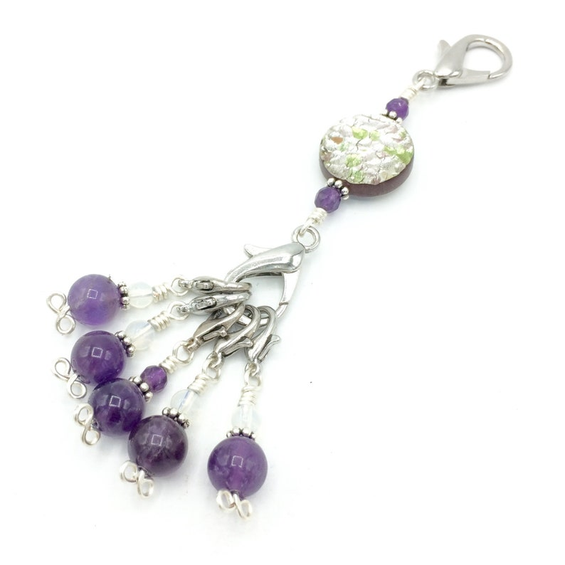 stitch markers for knitting and crochet snag free removable image 0