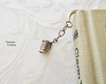 Spool of Thread with Needle Charm, Bookmark