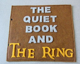 Lord Of The Rings inspired quiet book (PATTERN)