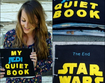 Completed Star Wars Quiet Book