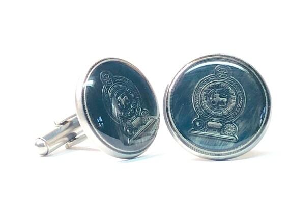 Congo Coin Cufflinks