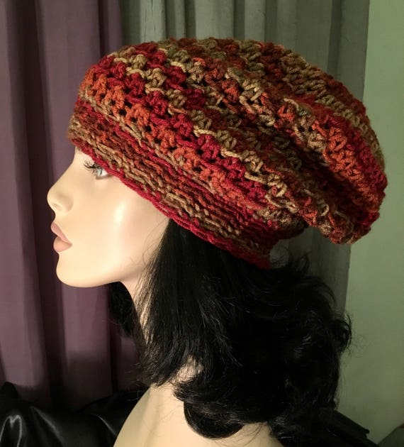 Womens Slouchy Hat Tam Accessory Dreads Women Mens Slouchy  bc1f68b2719