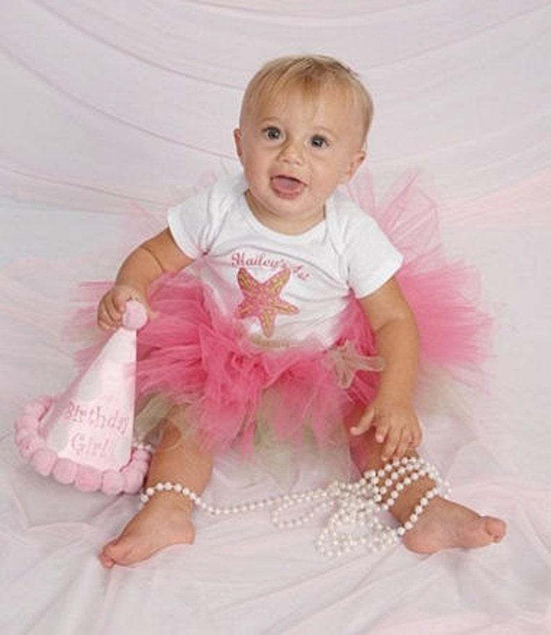 Custom Tutu Baby Set Personalized for Birthdays and Photo image 0