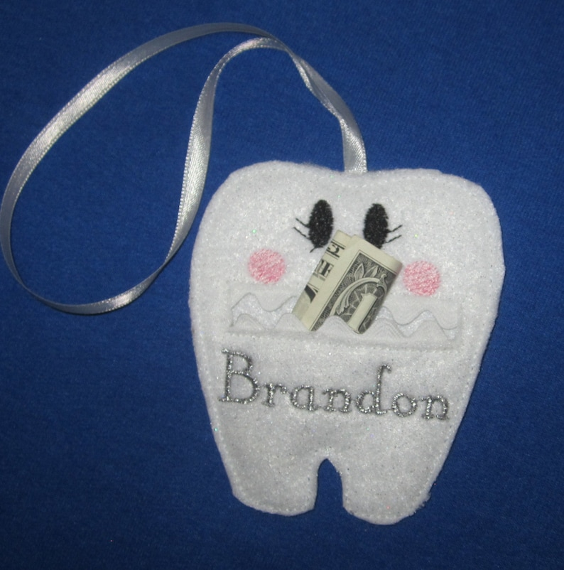 Tooth Fairy Pouch and Tea Light Cover GIFT SET with image 0