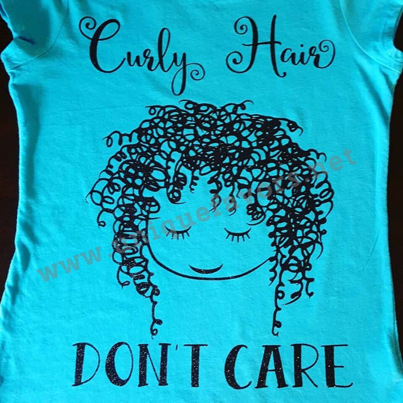 Curly Hair Don't Care Other finishes and colors image 0
